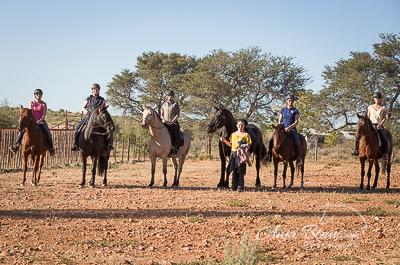 Ausritt Namibia