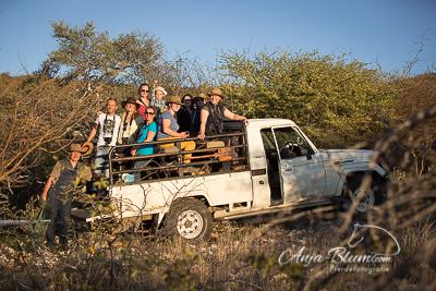 Sundowner Pferdefotografie Namibia