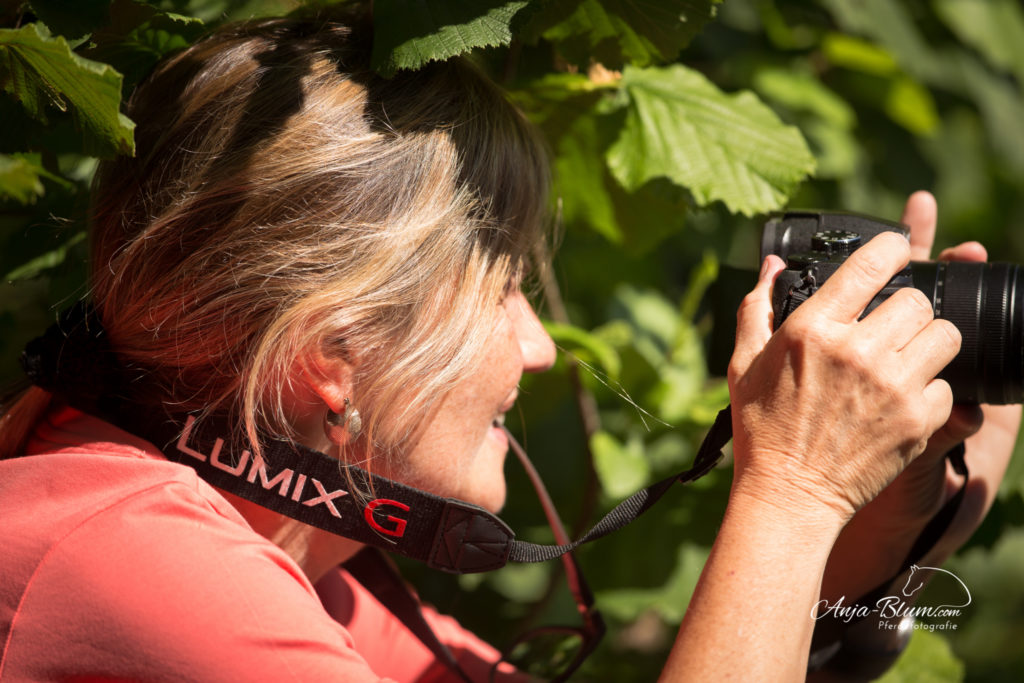 Kundin beim Personal Coaching Pferdefotografie