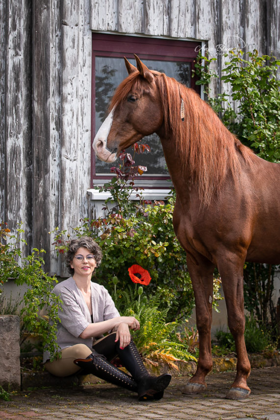 Fotoshooting mit Sandra Hirsch